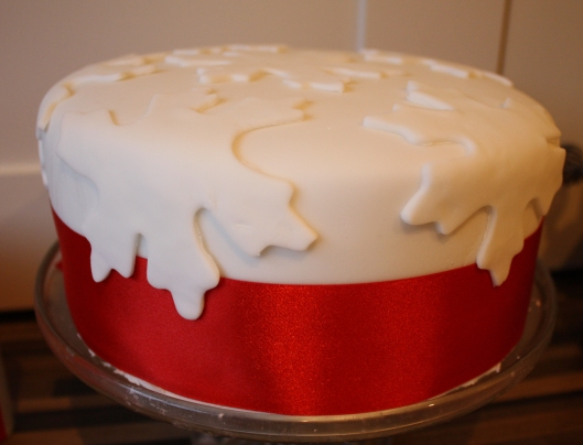 Cake iced