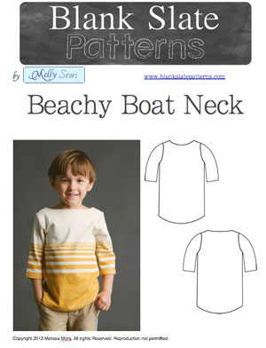 beachy boatneck