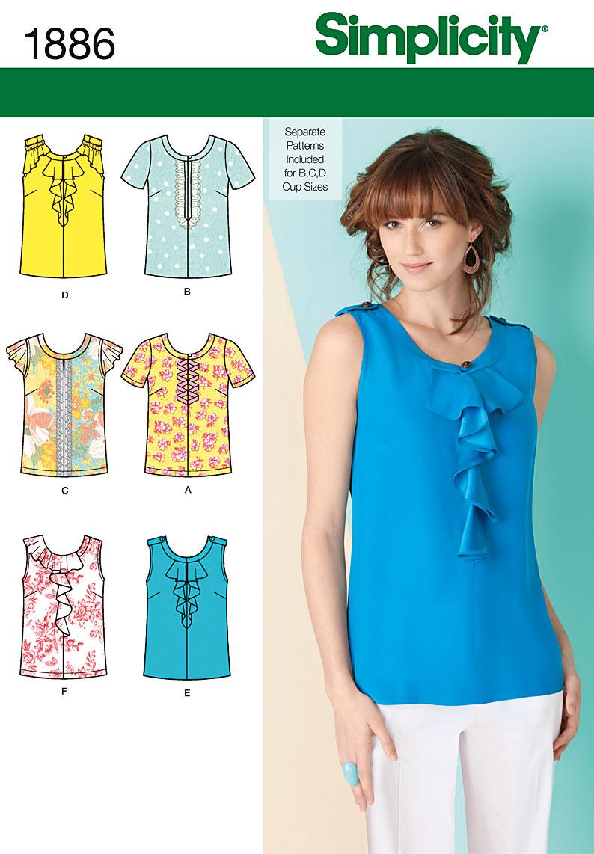 Летняя блузка из хлопка выкройки